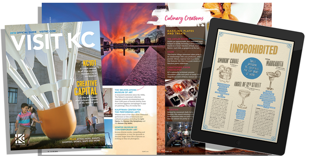 2018 Visit KC Magazine - Visitors Guide