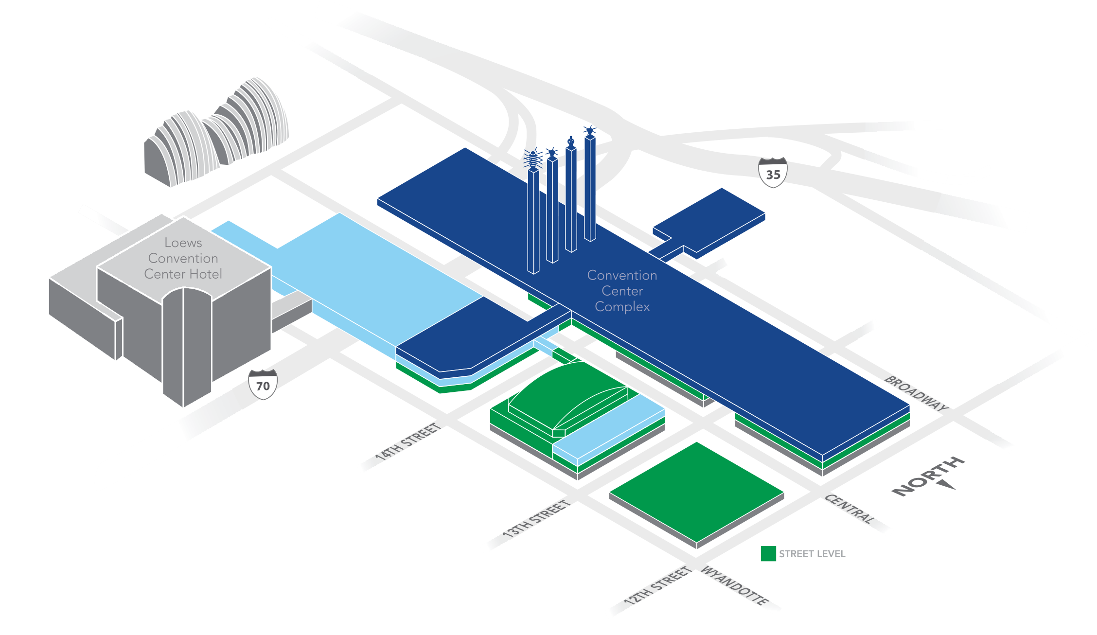 Kansas City Convention Center Layout