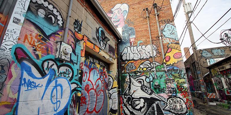 Art Alley in KC