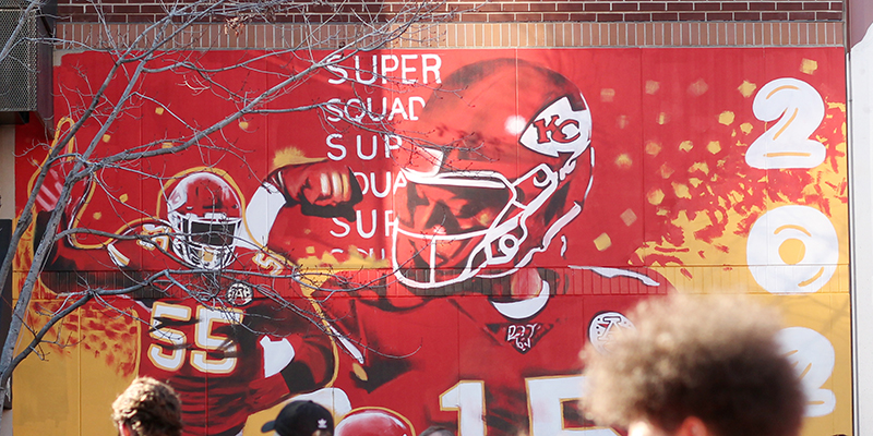 Chiefs Mural - Power and Light