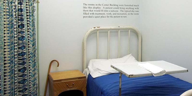 Glore Psychiatric Museum | Patient Living Space