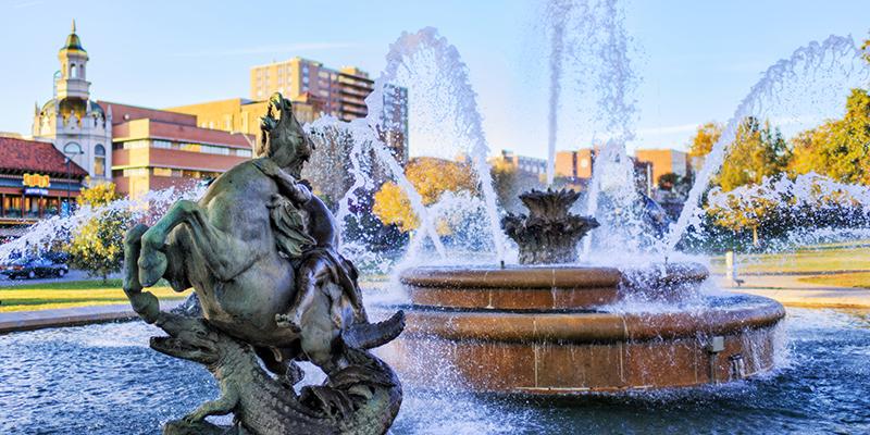 J.C. Nichols Memorial Fountain | David Arbogast