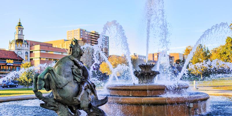 J.C. Nichols Memorial Fountain   David Arbogast