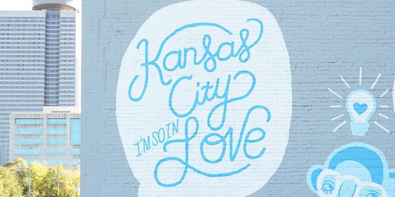 Kansas City I'm So In Love Mural