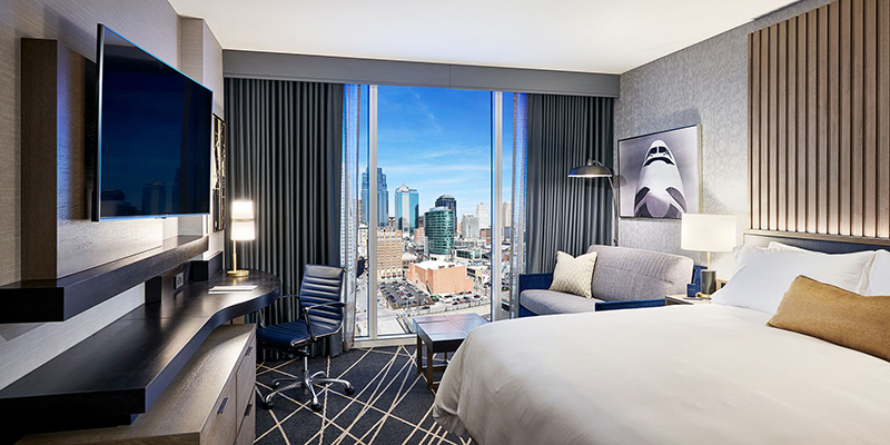 Loews Kansas City Hotel Room