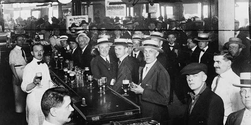 Prohibition Eve, New York City, 1919 | Library of Congress