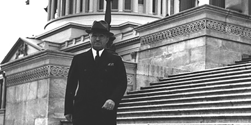 Senator Truman, Capitol Hill | Truman Library Institute