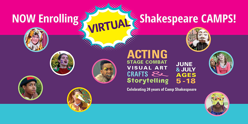 Virtual Shakespeare Camps