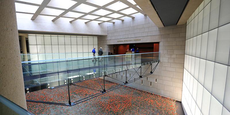 WWI Museum Entrance