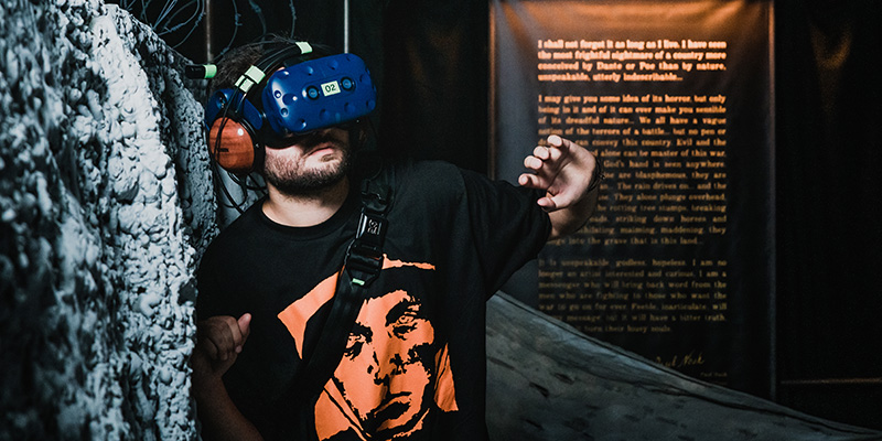War Remains Virtual Reality Experience