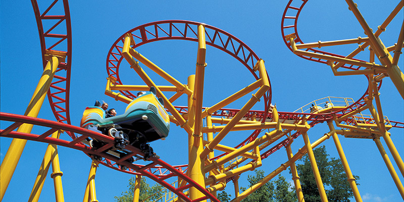 Spinning Dragons at Worlds of Fun