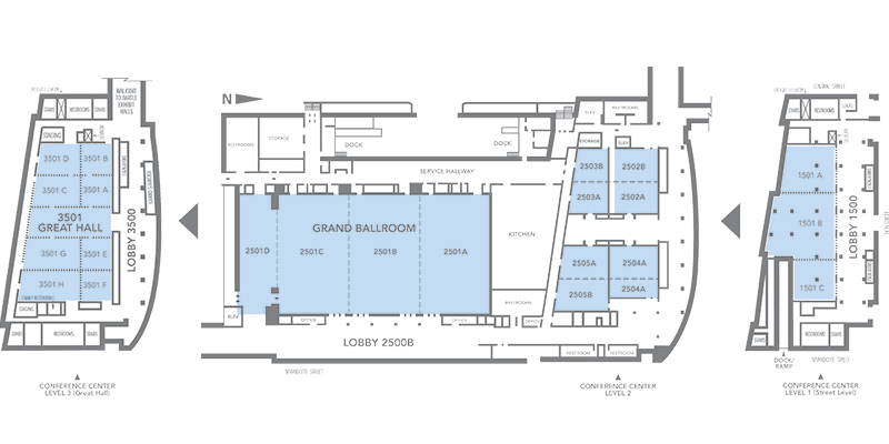 Conference Center and Grand Ballroom