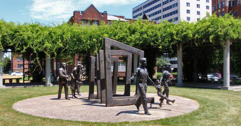 Bloch Cancer Survivors Park on the Country Club Plaza