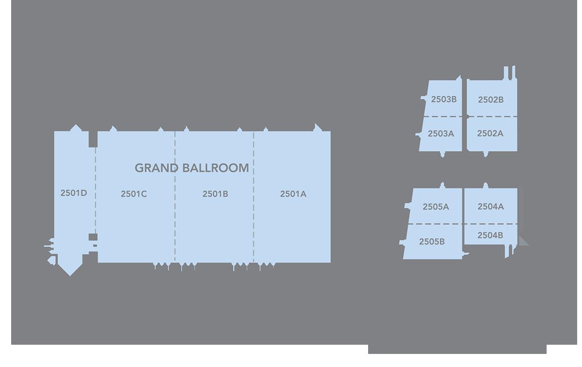 Kansas City Convention Center Grand Ballroom Diagram