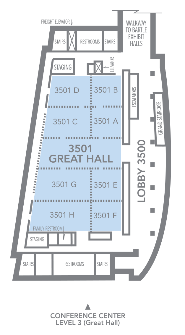 Conference Center - Great Hall 3501