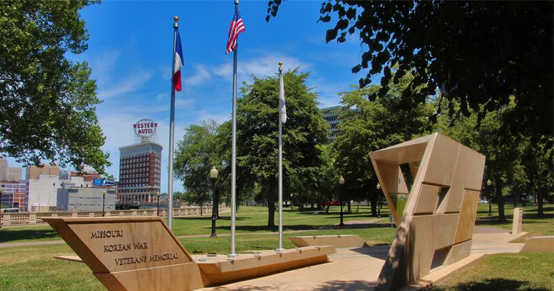 Korean War Memorial in Kansas City