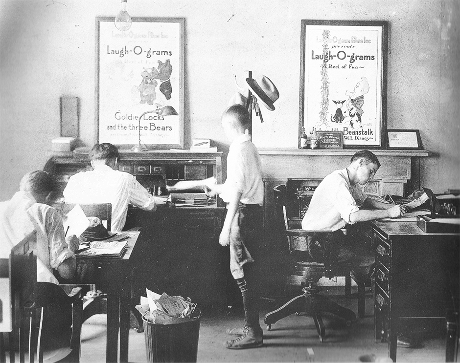Laugh-O-Gram Studio, Walt Disney's first animation studio