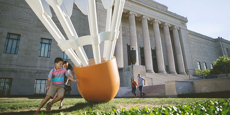 The Nelson-Atkins Museum of Art in Kansas City