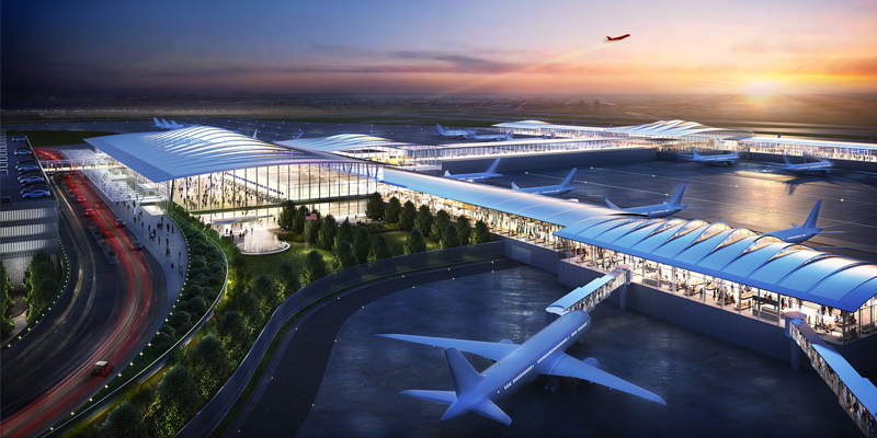 new kci airport