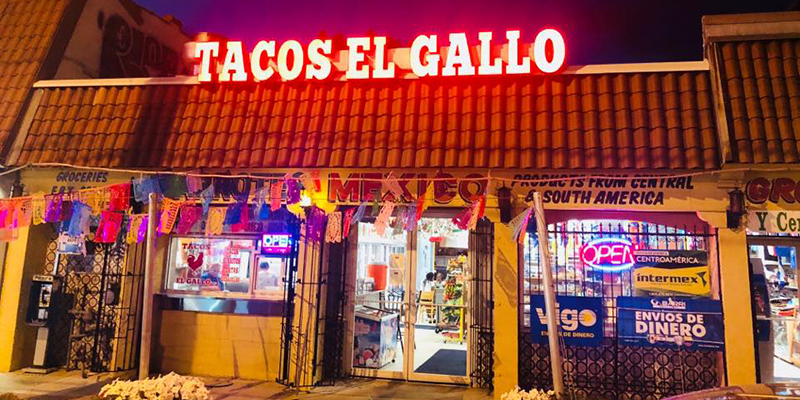 Tacos gallo
