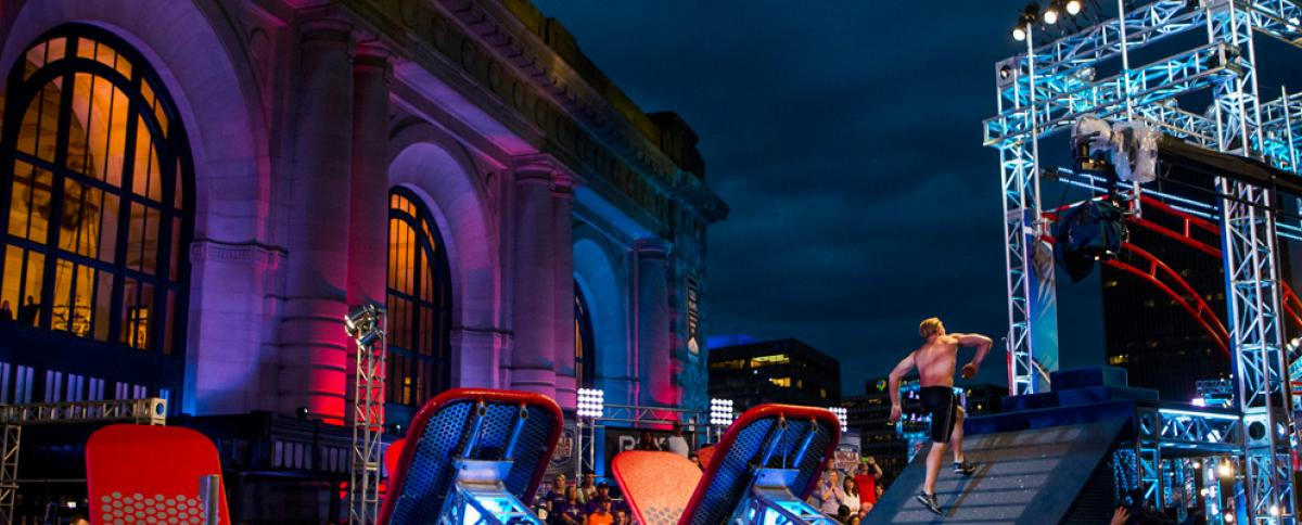 American Ninja Warrior at Union Station