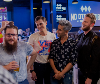 Queer Eye Season 3 in KC at No Other Pub