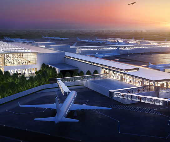 New KCI Single Terminal Arriving in 2023