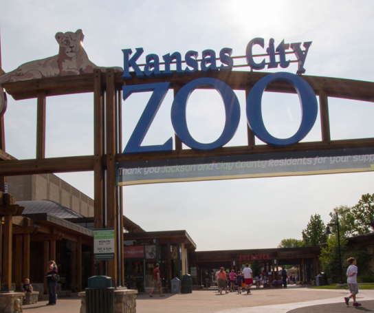 Kansas City Zoo's Elephant Exhibit