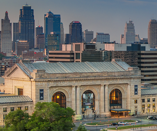 Union Station Skyline Kansas City