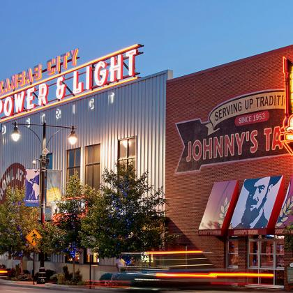 Kansas City Power & Light District