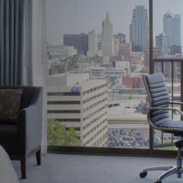 Westin Hotel Room in Kansas City