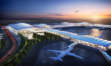New KC Single Terminal Airport