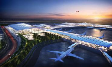 New KC Single Terminal Airport